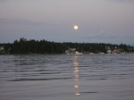 Full Moon rising over Muscongus Bay, St. George Peninsula, Maine