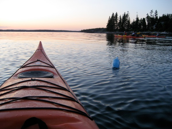 Port Clyde Kayaks Full Moon Paddle